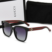 Gucci sunglass for women men +gift box 0034
