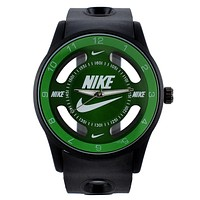 NIKE fashion exquisite watch  F-PS-XSDZBSH  Black green