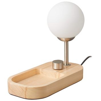 Globe Table Desk Lamp and Tray