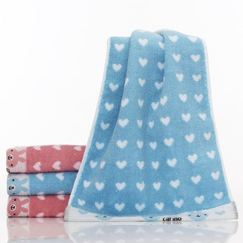 Hot Deal On Sale Bedroom Cotton Heart Towel [6381717510]