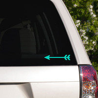 Arrow Car Window Decal