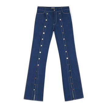 Denim Shank Pants