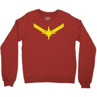 captain marvel Crewneck Sweatshirt