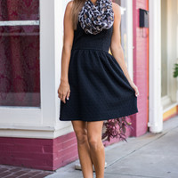 Plush Perfection Dress, Black