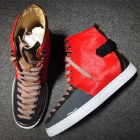 Cl Christian Louboutin Style #2135 Sneakers Fashion Shoes - Best Deal Online