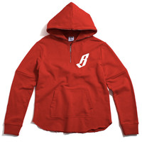 BB Scoop Pullover Hoody Tango Red