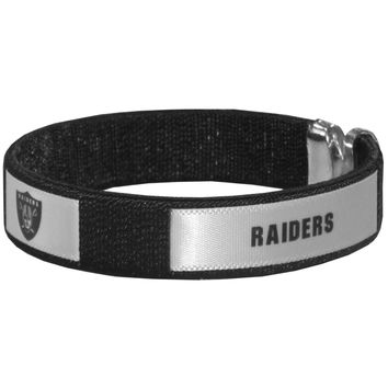 Oakland Raiders Fan Bracelet