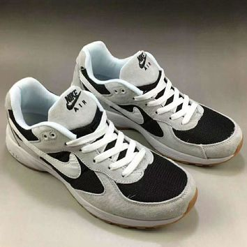 NIKE Women Men Running Roshe Sport Casual Shoes Sneakers Grey White Hook G-A0-HXYDXPF
