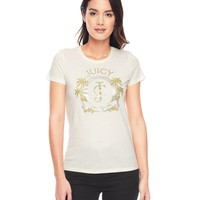 Logo Jc Palms Tee by Juicy Couture