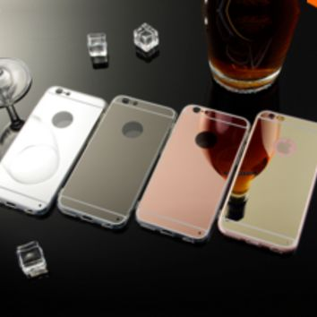 Mirror Slim Cell Phone Case For Apple iPhone 6, 6S and Plus!