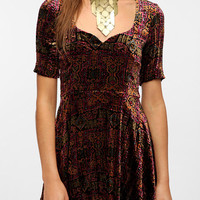 For Love & Lemons Anja Velvet Dress