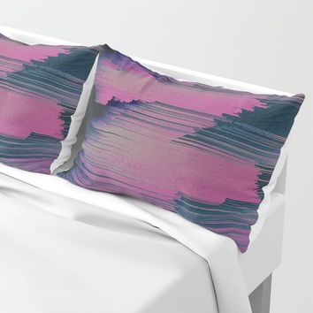 Tickled Pink Pillow Sham by duckyb