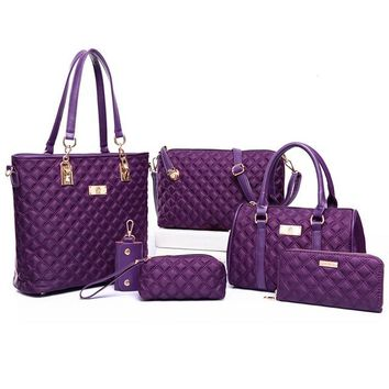 6 Piece Handbag Collection