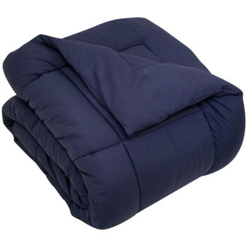 Down Alternative Comforter/ Duvet Cover Insert - Navy