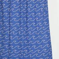 4040 Locust Wave Shower Curtain - Urban Outfitters