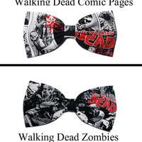 The Walking Dead Hair Bow, Walking Dead Gift Ideas, The Walking Dead Bow, Gifts for Her