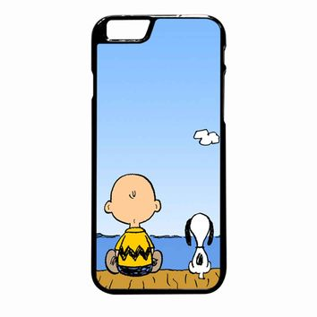 Snoopy And Charlie iPhone 6 Plus case