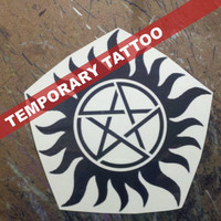 Anti-Posession Tattoo - Supernatural Cosplay