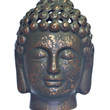 Fragrance Infused Small Bronzed Buddha