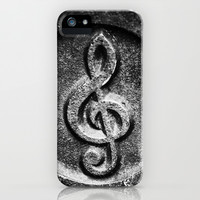 Nashville Music Note iPhone & iPod Case by Keith Dotson