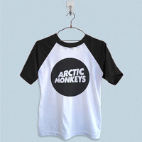 Raglan T-Shirt - Arctic Monkeys Logo