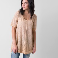 Gilded Intent Striped Top