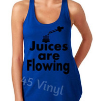 Juices are Flowing Racerback Tank Top - Tank Top - Juices - Vape