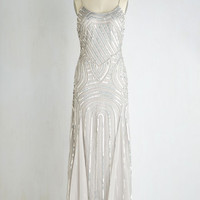 Spaghetti Straps Maxi Full Gleam Ahead Dress