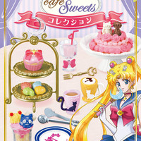 Strapya World : Re-Ment Sailor Moon Crystal Cafe Sweets Petite Figure