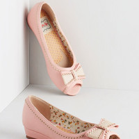 Vintage Inspired Spring Zing Wedge in Bubblegum
