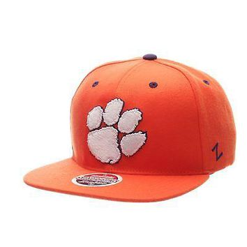 Licensed Clemson Tigers Official NCAA Z11 Adjustable Hat Cap by Zephyr 243992 KO_19_1