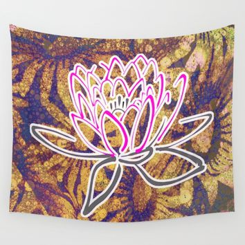 LOTUS Wall Tapestry by AshleyVeronica5