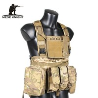 Military Tactical Vest Camouflage US Navy Seal