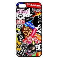 Obey All Brands Apple Iphone 5 Case