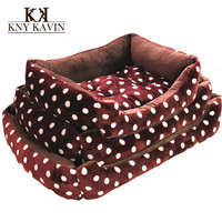 Brand Dog House New Pets  Large Beds Fashion Soft  Dog House High Quality PP Cotton Plus Size Pet Beds Pets Products Cats HP763