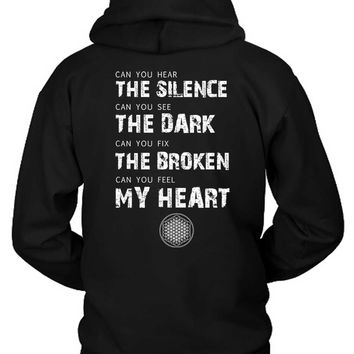 Bring Me The Horizon Can You Quote Hoodie Two Sided