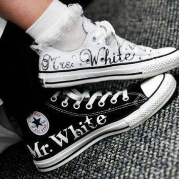 CREYON made to order wedding converse f9d1fc18b9