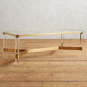 Oscarine Lucite Coffee Table, Rectangle