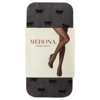 Merona® Women's Sheer Bow Tights - Black