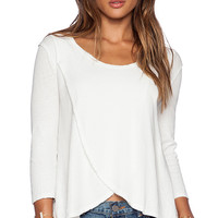 Free People Bonsai Tee in Cream