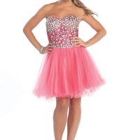 Corset Short Cute Homecoming Prom Cocktail Formal Dress Sweet Sixteen Adjustable