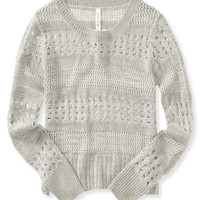 Aeropostale  Womens Open-Knit Sweater