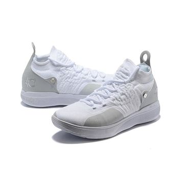 Nike Zoom KD 11 Gray White - Best Deal Online