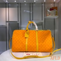 HCXX 19Aug 1115 Louis Vuitton LV M44645 Outdoor Monogram Keepall 50 Fashion Duffel Bag 50-29-23cm