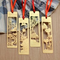 New Cute Kawaii Beautiful Chinese Style Vintage Exquisite Metal Bookmark for Book Creative Item Gift Package Free shipping 442