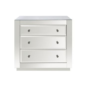 Worlds Away Alicia Mirrored Chest