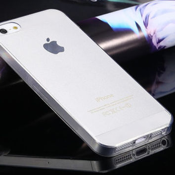 Ultra thin silicon soft cover for iPhone 5/5S