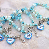 mom grandma aunt sister cousin daughter niece matching family bracelets perfect for props or photoshoots