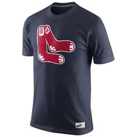 Nike Boston Red Sox Cooperstown Washed Dugout Logo Tee 1.4