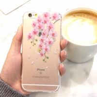 Cherry blossom Case Cover for Apple iPhone 6 6S 6 Plus 6S Plus DC0823-001